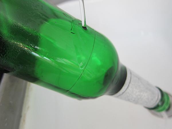 Flaschen schneiden Anleitung