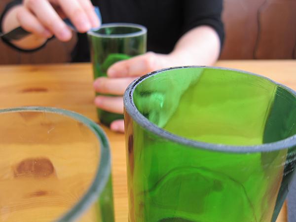 Flaschenschneiden, eine Anleitung